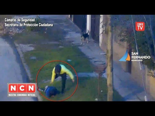 CINCO TV - Protección Ciudadana de San Fernando detuvo a dos ladrones fuertemente armados
