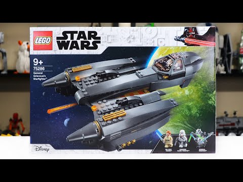 LEGO Star Wars 75286 General Grievous's Starfighter Review! (2020)