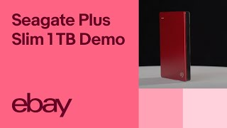 Seagate Backup Plus Slim 1 TB External Hard Drive - STDR1000303   eBay Top Products