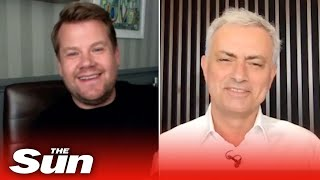 Jose Mourinho reveals his Euro 2021 predictions in interview with James Corden