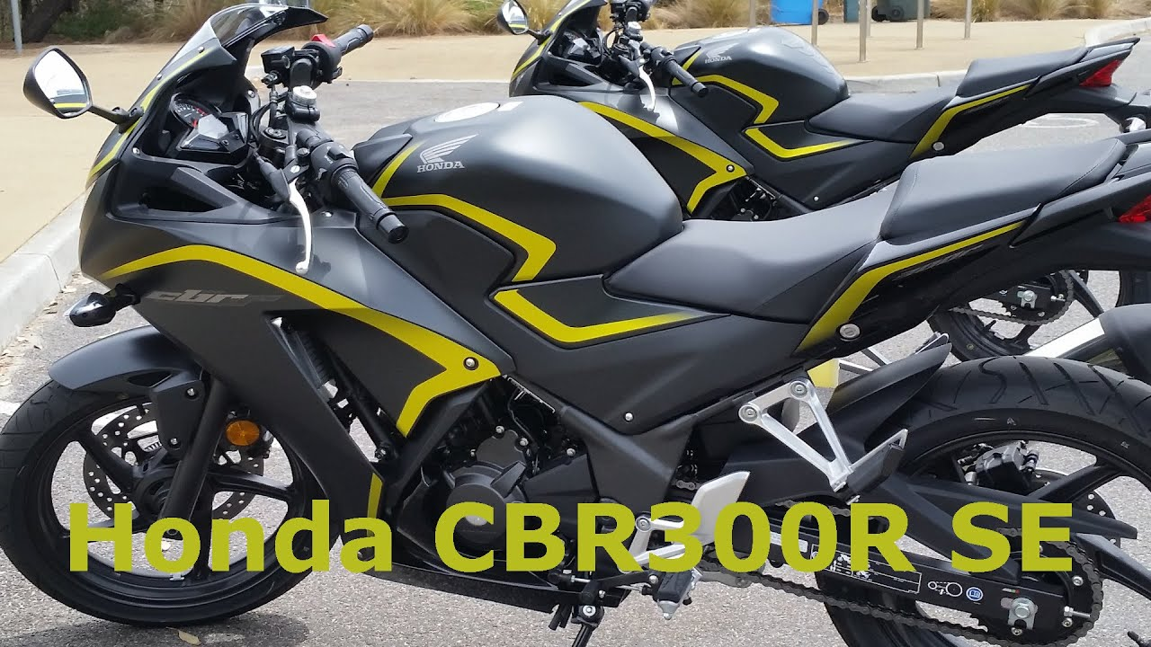 2015 Honda CBR 300R SE (Special Edition) Start Up & Overview - YouTube