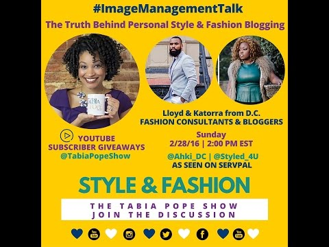 """The Truth Behind Fashion Blogging"" - The Tabia Pope Show S2 Ep14"