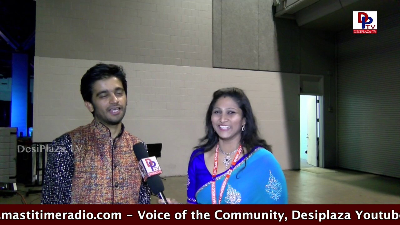 Interview with Vilas Nayak Creater of NTR painting at  TANA Conference - 2017 - St Louis