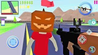 Dude Theft Wars Open World Sandbox Simulator BETA #9 - Android gameplay