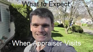 What to Expect When Appraiser Visits -- Portland Appraisal - 503.781.5646
