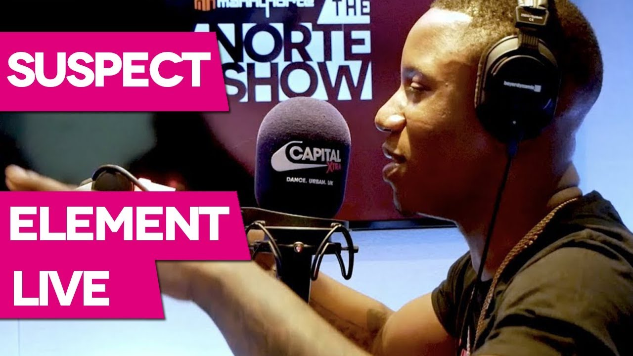 Suspect Performs 'Element' Live For Manny Norte On Capital XTRA