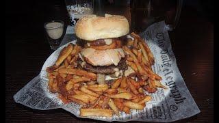 Quadruple Irish Burger