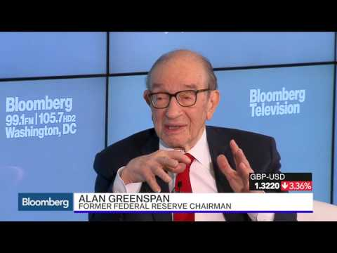 Alan Greenspan on Brexit, U S  Economy, and Inflation Full Interview