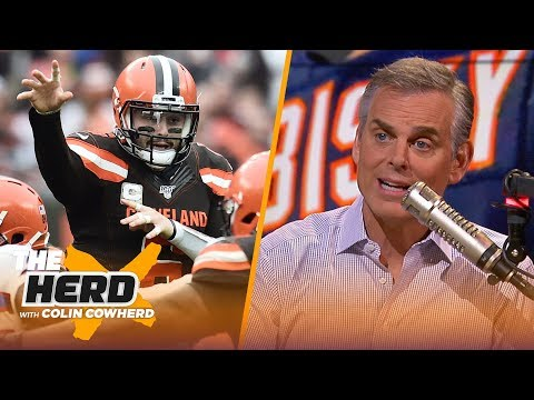 Baker is now just a guy, Colin reacts to reports Bears skipped meeting with Watson | NFL | THE HERD