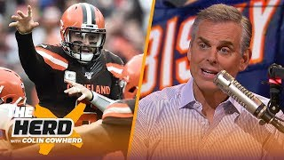 Download Baker is now just a guy, Colin reacts to reports Bears skipped meeting with Watson | NFL | THE HERD Mp3 and Videos