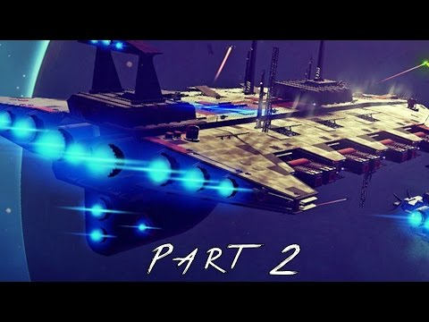 No Man's Sky Walkthrough Gameplay Part 2 - Space Station (PS4)
