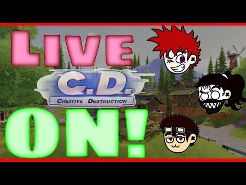 Live de Creative Destruction que teve de tudo!