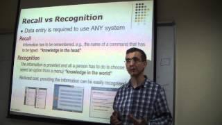 CSE 763 - Human Computer Interaction - Lecture 5 - Mehmet Göktürk