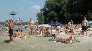 Lido beach - Zemun, Belgrade, Serbia