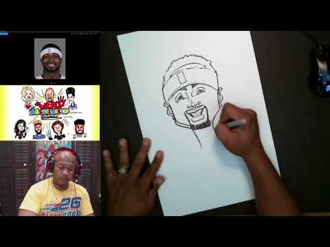 How to Draw Caricature Dee Brown