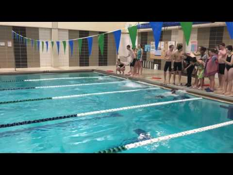 100m Breaststroke at Mount Wachusett Community College (race 5)