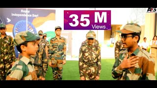 Emotional Indian Army Act I Choreography Arjun Sir I Witty International School l Arjun Dance Studio