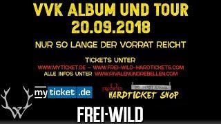 Frei.Wild - Rivalen und Rebellen LIVE&MORE, Album + Tour - Dez 2018 [Trailer]