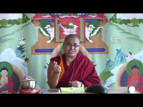 An Introduction to Tibetan Buddhist Debate with Geshe Chopa Tenzin Lhadron 06-22-17