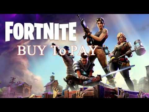 Fortnite Paywall | Buy to Pay Game | Vbucks