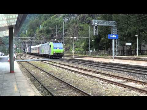Bahnverkehr rund um den Simplon