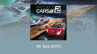 Project CARS 2 OST Spa 2017