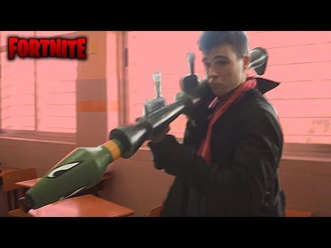 ¡¡ FORTNITE EN LA VIDA REAL !! Mini PELICULA by Alecmolon