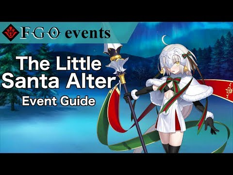 The Little Santa Alter | FGO NA Christmas 2018