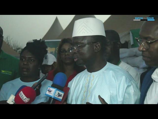 Fiara 2021 Mamadou Diagne Fade annonce le retour de l'huile d'arachide dans le marche