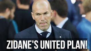 Zidane Man United Transfer Plan! Man Utd News