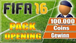 100.000 Coins Gewinn - FIFA 16 Pack Opening