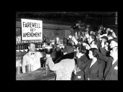 15th December 1933: 21st Amendment ends prohibition in the USA