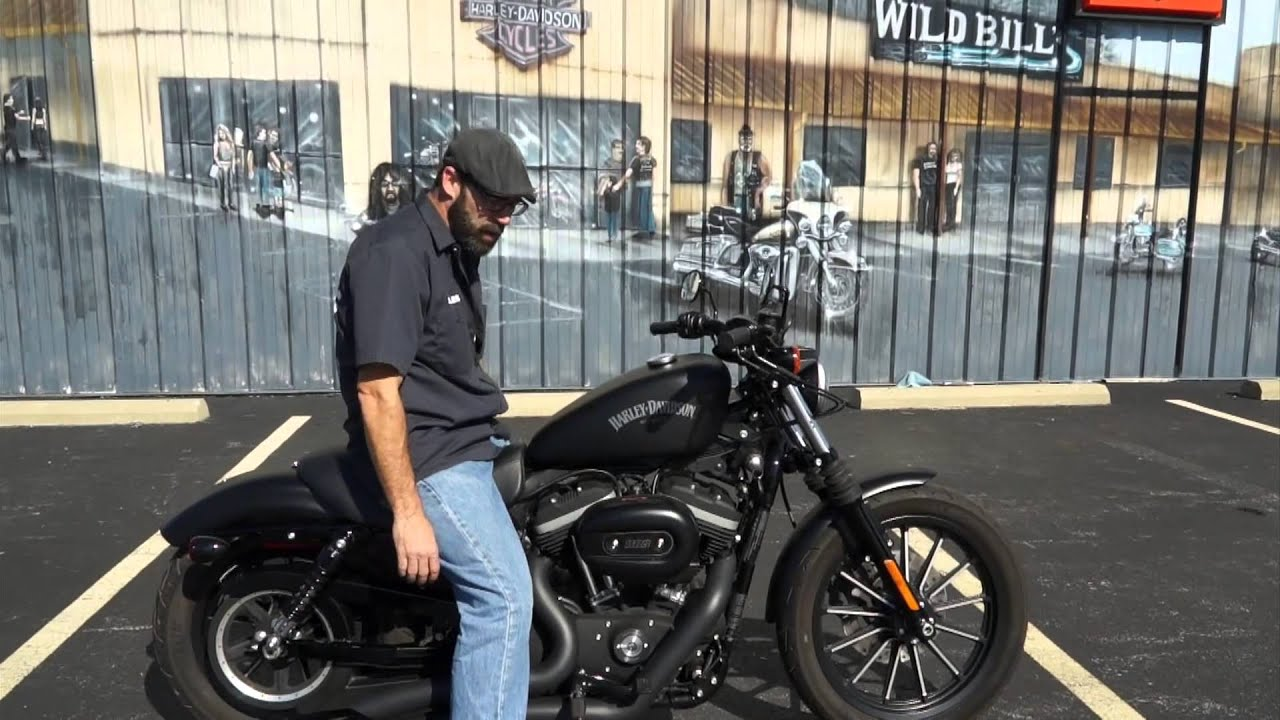 2013 Harley-Davidson Sportster Iron 883 XL883N! - YouTube