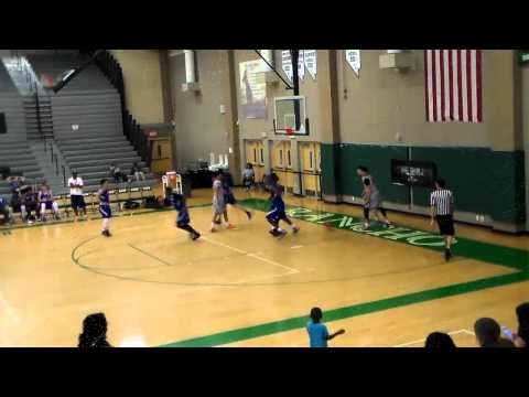 Noah Baumann -- hoops highlights - spring 2015 - YouTube