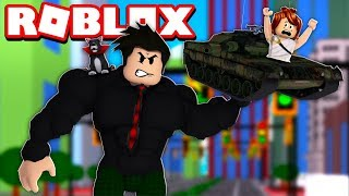 LOKIS BECAME GIANT IN TRAINING | ROBLOX-Lifting Simulator