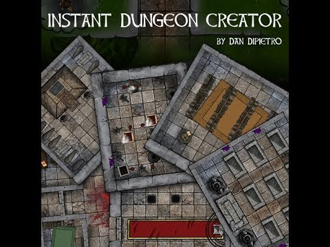 Instant Dungeon Creator Map Pack - YouTube on