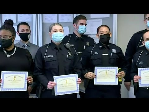 Detroit Officers, 911 Dispacters In 5th Precinct Awarded For Bravery