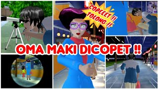 OMA MAKI DI COPET | VLOG HAPPY FAMILY PART 22 - SAKURA SCHOOL SIMULATOR DRAMA - SSS