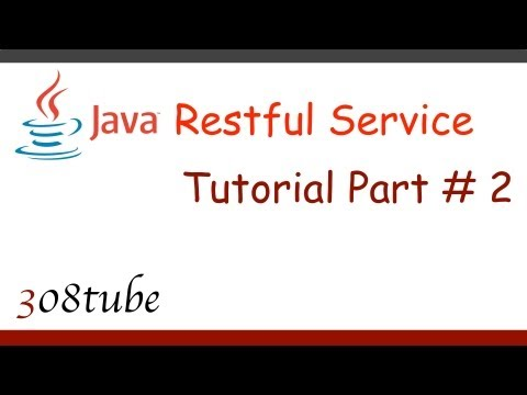 Java Restful Service Tutorial - Creating a...