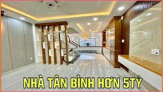 Bán nhà Tân Bình | 369] Căn nhà đẹp giá hơn 5 tỷ đúc 3.5 lầu duy nhất tại Phường 15 Tân Bình