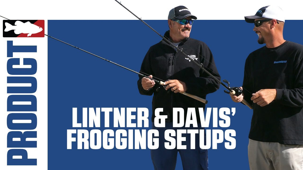 Jared Lintner and Alex Davis Talk about their Favorite Frogging Setups