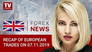 InstaForex tv news: 07.11.2019: GBP collapses as BoE hints at interest rate cut (USD, EUR, GBP, GOLD)