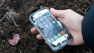 lifeproof case for iphone 5 snow dirt water tests