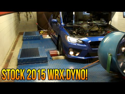 Stock 2015 WRX Dyno Day! (with numbers and graph) (GoodSpeedPerformance)
