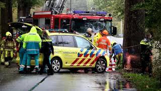Twee doden bij verkeersongeval in Lippenhuizen