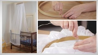 How To Make A No-sew Crib Canopy