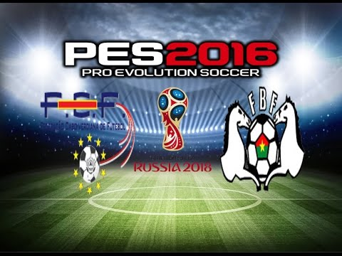 PES 2016 Gameplay Cape Verde vs Burkina Faso