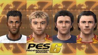 pes 6 türk takımları oyuncu yüzleri incelemesi 2006