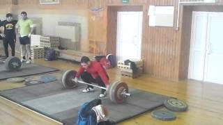 Артём Окулов-190 кг. Рывок с виса
