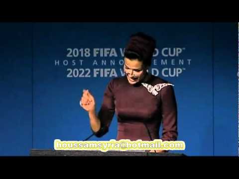 Qatar World Cup 2022 Bid Presentation By HH Sheikha Mozah